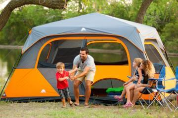 family camping tents
